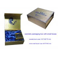 Buy cheap Cosmetic Packaging Box, Cosmetic Paper Gift Box with Small Boxes from wholesalers