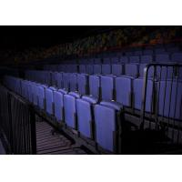 Slim Profile Removable Stadium Seating Retractable Tiered Seating For Performing Arts