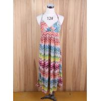 Buy cheap bohemia Beach long dress brand Suspender one piece sun dress printed Maxi dress stocklots from wholesalers