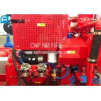 Buy cheap Red Fire Pump Diesel Engine 86KW Water Cold Cooling For Firefighting from wholesalers