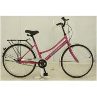 Buy cheap 26 inch woman's city bike with steel frame chao yang tire from wholesalers