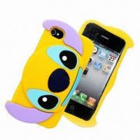 Buy cheap Soft Silicone Case for iPhone 4/4S, with Cartoon Design product