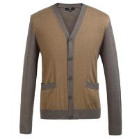 Buy cheap Eco Friendly Fashion mens wool cardigan sweaters for Spring , Autumn from wholesalers