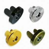 Buy cheap Magnetic Buttons, Customized Designs are Accepted, OEM and ODM Orders are Welcome from wholesalers