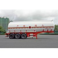 2 Axles Oil Tank Trailer 28600L , Fuel Tanker Semi Trailer 28.6CBM 10000×2490×3350