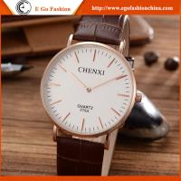 Buy cheap 076A Genuine Leather Watch PU Leather Strap Watches Unisex Watch Sports Watch Casual Watch from wholesalers