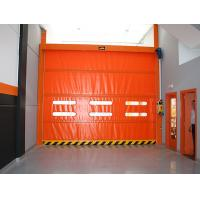 Buy cheap Fast Moving Plastic Fabric Automatic Rolling Shutter Door with Heat Preservation from wholesalers