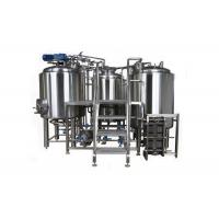 Buy cheap 7BBL Small Brewery Equipment SUS304 Semi Auto Control System With Steam Heating from wholesalers