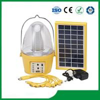 Buy cheap Solar camping lantern with 3.5W solar panel for cheap sale from wholesalers