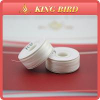 Buy cheap 70D Polyester Bobbin Threads Cardboard Side White For Crochet from wholesalers