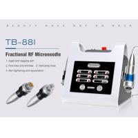 Buy cheap Monopolar & Bipolar Microneedle RF Fractional Machine for Skin Tightening Wrinkle Removal from wholesalers
