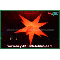Buy cheap Party Bar Outdoor Inflatable Decorations Led Lighting Star With 16 Different Color from wholesalers