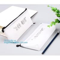 Buy cheap polyester school student colorful felt pencil bag, Zipper Lock Custom China Round Pencil Bag, Silicone Pencil Shaped Pen from wholesalers
