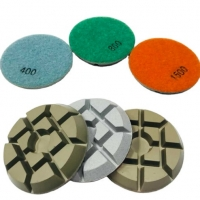 Buy cheap 3 Inch Dry Diamond Polishing Pads For Concrete from wholesalers