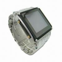 Buy cheap Stainless Steel Waterproof Watch Mobile Phone from wholesalers