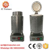Buy cheap JC Industrial Electrical Mini Small 1-4kg Gold Melting Furnace for Sale from wholesalers