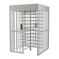Buy cheap High Security Used,1.2/1.5mm SUS304,35p/m Reliable design,low noise,long service life,Single Lane Full Height Turnstile product