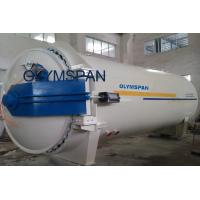 Buy cheap Chemical Glass Laminating Autoclave Aerated Concrete / Autoclave Machine Φ2m product