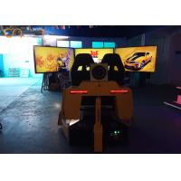 Buy cheap Real Track Simulation VR Racing Simulator 3d Motion Chair Entertainment Equipment for Amusenment Park from wholesalers