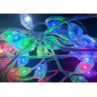 Buy cheap Smart Programmable RGB LED Christmas Lights 0.028 Amps Used In Wedding Club from wholesalers