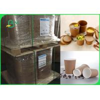 Buy cheap 80gsm one side coated food grade high strength cups paper in roll from wholesalers
