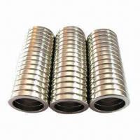 Buy cheap Ring Magnet with Smooth Coating of Ni, Zn, Ni-Cu-Ni, Stable Performance from wholesalers