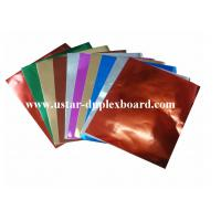 Buy cheap Aluminium foil cardboard UAE from wholesalers