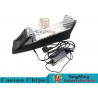 Buy cheap Electric Control Casino Card Shoe Built - In High Speed Recognition Sensor from wholesalers
