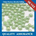 Buy cheap china top grade hotfix ceramic rhinestone;new style pearl ceramic rhinestone;wholesale price rion on ceramic rhinestone from wholesalers