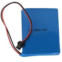 Buy cheap NMC 12V 2200mAh 18650 Rechargeable Battery Pack 1C Discharge from wholesalers