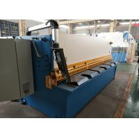 Buy cheap CNC Hydraulic Sheet Metal Shear For Iron Carbon Sheet / Stainless Steel from wholesalers