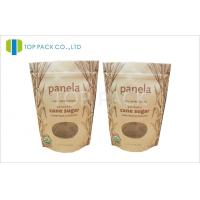 Buy cheap Zip Closure Printed Stand Up Pouches Gusseted Pouch SGS Certification from wholesalers