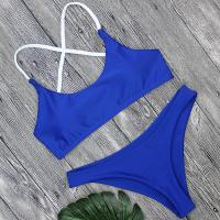 Buy cheap Wholesale and Retail 2018 Women Sexy Blue Brazilian Swimsuit from wholesalers
