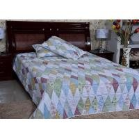 Buy cheap Custom Printing Home Dense Cotton Microfiber Quilt with Piping or Binding Edges from wholesalers
