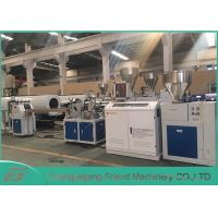 Buy cheap Professional PVC Sheet Extrusion Line , 80mm Width White PVC Sheet Extruder from wholesalers