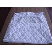 Buy cheap White Quilted Waterproof Mattress Protector Anti Acarid For Home from wholesalers