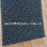 Buy cheap Air filter sponge sheet black polyurethane 20ppi foam sheet reticulated polyurethane filter foam from wholesalers