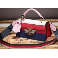 Buy cheap Fancy Women Genuine Leather Handbags, Casual Clutch Purse With Strap from wholesalers