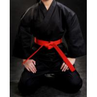 Buy cheap WKF approved different colour karate training uniform,karate kimono Twill Fabric black Karate Gi Uniforms for sales from wholesalers