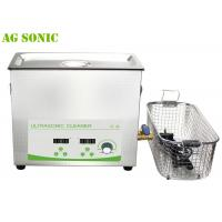Buy cheap 6L Sweep Ultrasonic Cleaner for Dental Medical Hospital Electronics Power Adjustable product