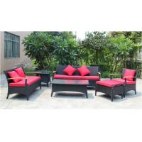 Buy cheap 6 piece -Outdoor Rattan Furniture teak wooden 3/2/ single sofa coffee table end table-YS5737 from wholesalers