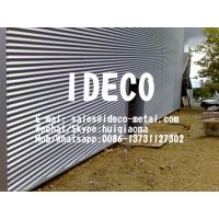 Buy cheap Stainless Steel Corrugated Sheet Metal Roof Panels,Architectural Interior Design Corrugated Metal Panels from wholesalers