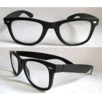 Buy cheap Black optical frame UV400 Fashion Sunglasses with Polarized lens, Plastic eyewear from wholesalers
