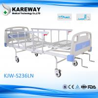 Buy cheap 2 Shake Powder Coated Steel Comfortable Hospital Beds Mesh Frame White Color For Private Home from wholesalers