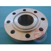 Buy cheap Pipeline Rolled Ring Welded Flange High Pressure , 42CrMo4 Alloy Steel Flange Forging from wholesalers
