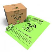 Buy cheap Eco Friendly Compostable Pet Waste Bags , Biodegradable Dog Poop Bags from wholesalers