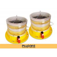 Buy cheap Led Battery Operated Aircraft Warning Lights Fresnel Lens 3KM Visual Distance product