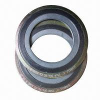 Buy cheap Spiral wound gasket with inner and outer ring, CGI SWG standard, SS 304, 316L, 321, Monel from wholesalers