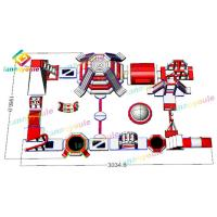 Buy cheap 22x20mm 1300D Pvc Inflatable Water Park For Outside Activity SGS from wholesalers