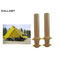 Buy cheap 3 / 4 Stage Telescopic Dump Truck Lifting Hydraulic Hoist Cylinder from wholesalers